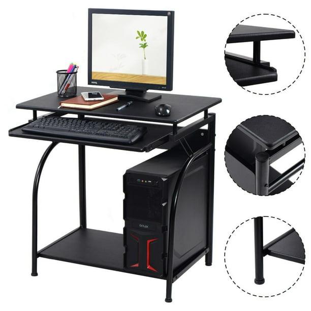Costway Computer Desk Pc Laptop Writing Table Workstation Home Office Study Furniture Walmart Com Walmart Com