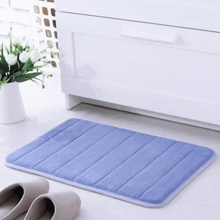 """160x50CM/62""""x20"""" Non-Slip Back Long Memory Foam Mat Cashmere Coral Bathroom Bath Shower Footcloth Bedroom Living Room Doormats"""