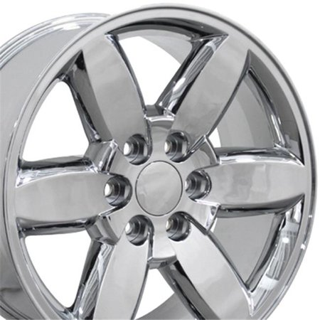 20 x 8.5 in. Wheel, Chrome for GMC Yukon (Gmc Yukon Wheels And Tires For Sale)