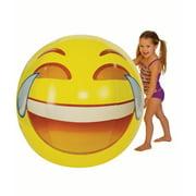 "Emoji Beach Ball - 56"" Tears of Joy"