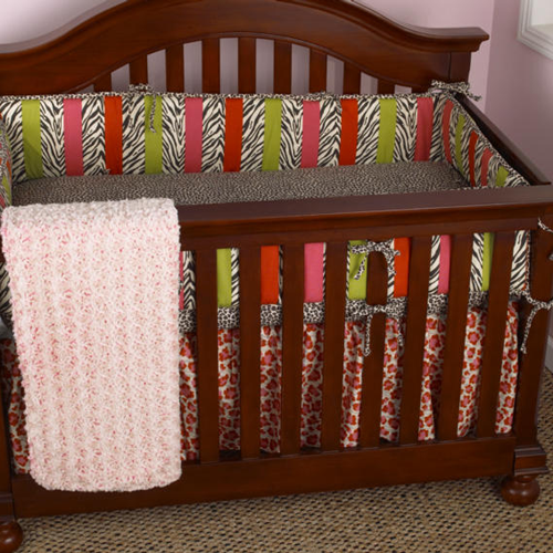 Cotton Tale Here Kitty Kitty 4 Piece Crib Bedding Set