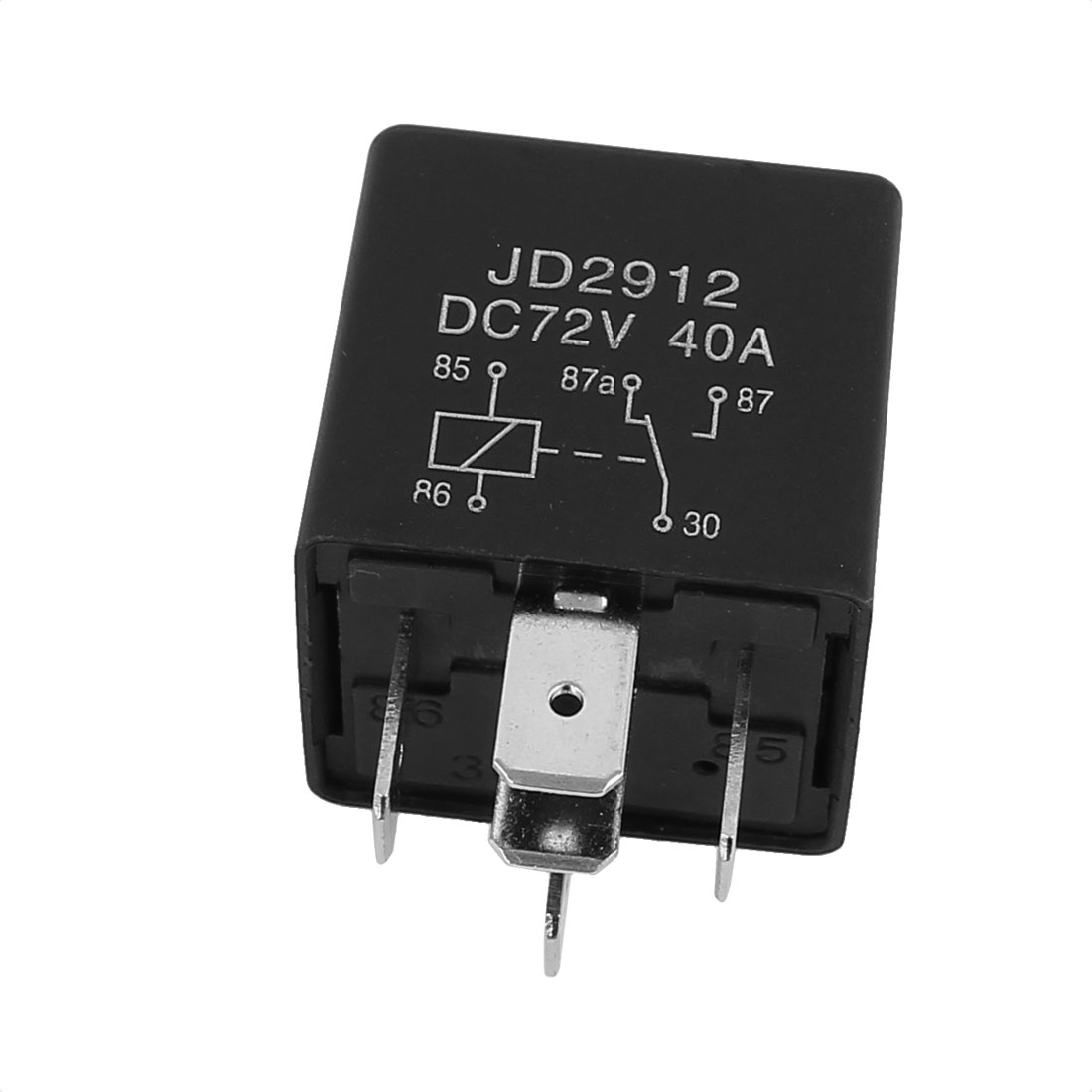 JD2912 DC 72V 40A 5 Pins SPST Vehicle Car Security Power Relay 10pcs - image 1 of 3