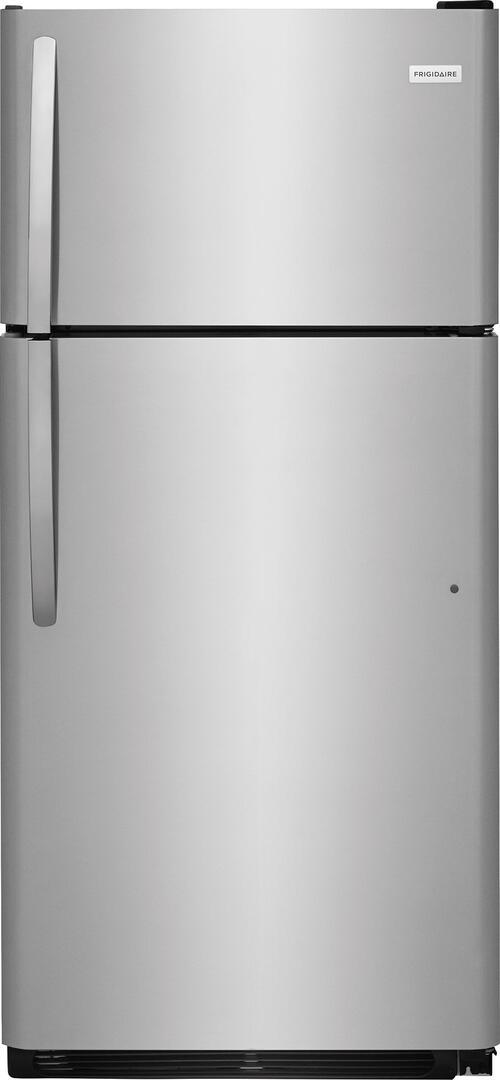 Frigidaire 4-Piece Black Kitchen Package FFTR1821TB 30 Top Freezer ...