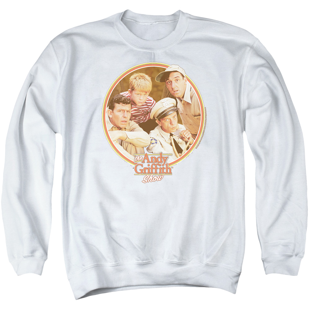 Andy Griffith Boys Club Mens Crewneck Sweatshirt