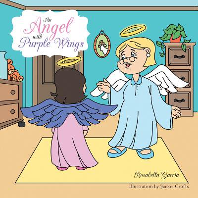 Angel Wings Scrapbooks - An Angel with Purple Wings - eBook