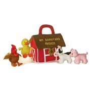 My Barnyard Friends Ba Talk Playset, Plush Material. For ages 6-24 months. By Aurora