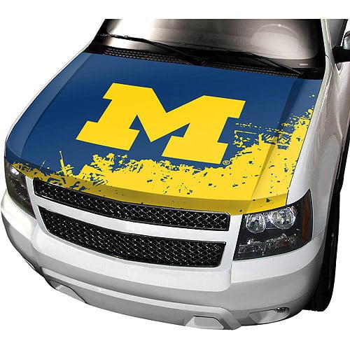 Michigan NCAA Auto Hood Cover