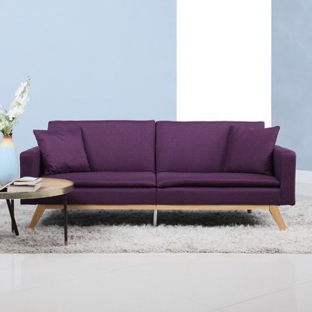 Awesome Ebern Designs Elvie Sofa Bed Purple Squirreltailoven Fun Painted Chair Ideas Images Squirreltailovenorg