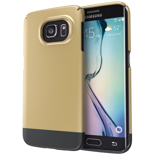 Samsung Galaxy S6 EDGE Case, Encased (SlimShield Series) Ultra Thin Hybrid Cover