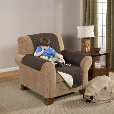 Reversible Quilted Furniture Protector Chair Couch Pets