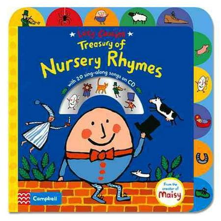 Lucy Cousins Treasury Of Nursery Rhymes   Big Book Of Nursery Rhymes And Cd