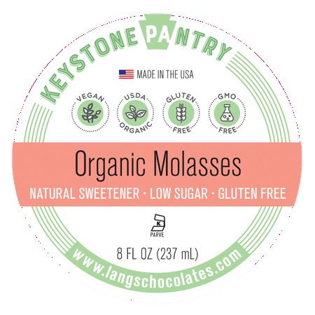 Keystone Pantry Organic Molasses 8 Fl Oz Bottle