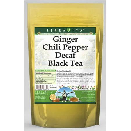 Ginger Chili Pepper Decaf Black Tea (50 tea bags, ZIN: 545749)