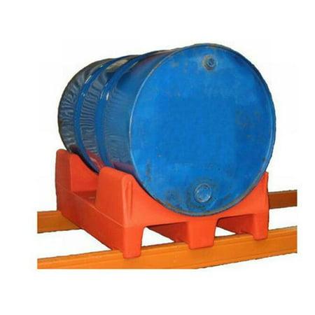 Vestil Manufacturing PRDC-36-R 36 in  Pallet Rack Drum Roller Cradle