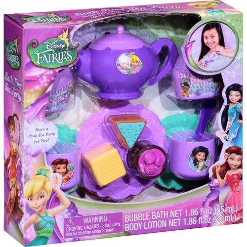 Disney Fairies Bath Time Tea Party Playset, 13 pc