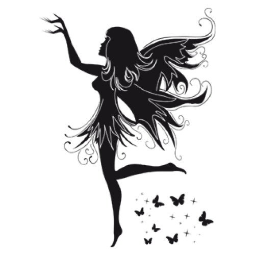 Style and Apply Magic Fairy Wall Decal