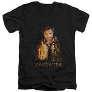 Constantine Devil You Know Mens V-Neck Shirt