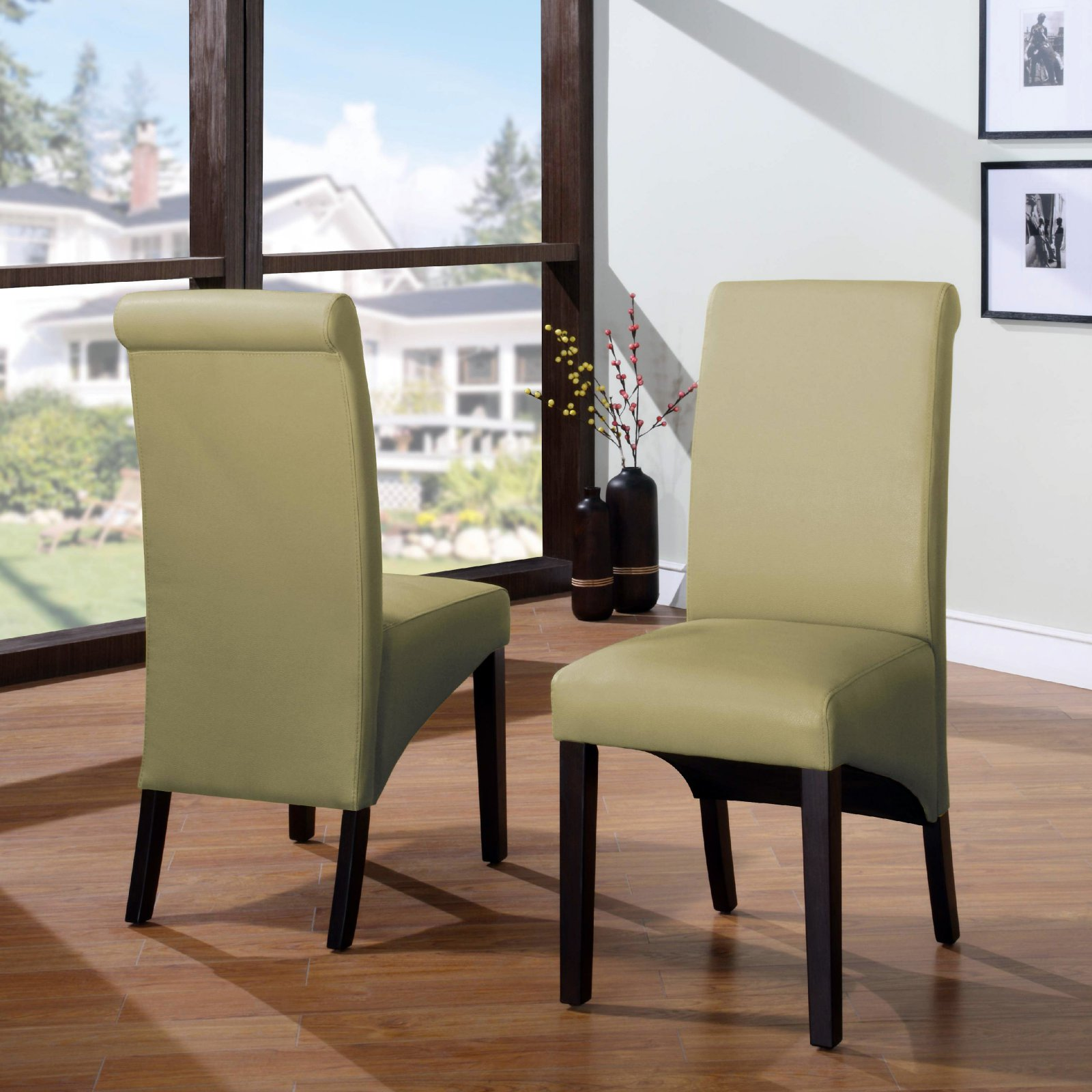 Modus Cosmo Sleigh Back Chair Set of 2 by Modus Furniture