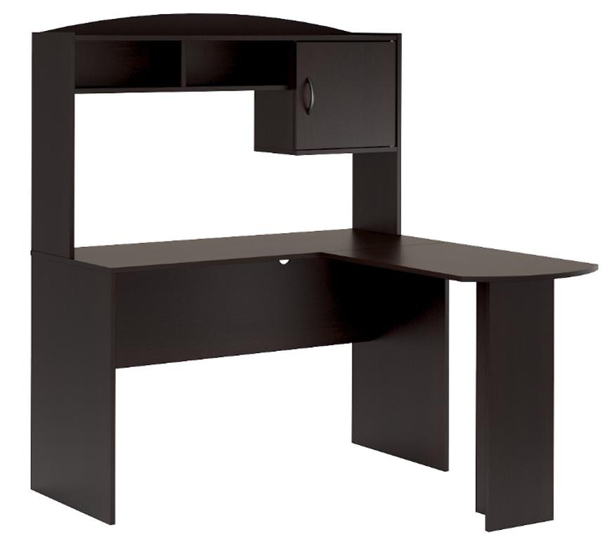 Mainstays L Shaped Desk In Espresso Color By Mainstays