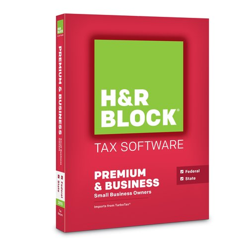 H&R Block Tax Software 15, Premium and Business