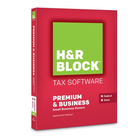 H Block Tax Software Premium   Business 2015 Federal   State