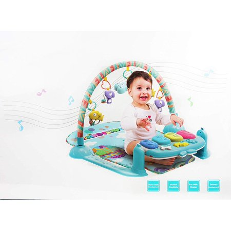 Nbd Piano Baby Gym For Baby Girls And Boys Keyboard Sounds