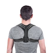 Posture Corrector for Men And Women Elastic Adjustable Upper Back Brace for Clavicle Support and Providing Pain Relief from Neck, Back and Shoulder Universal