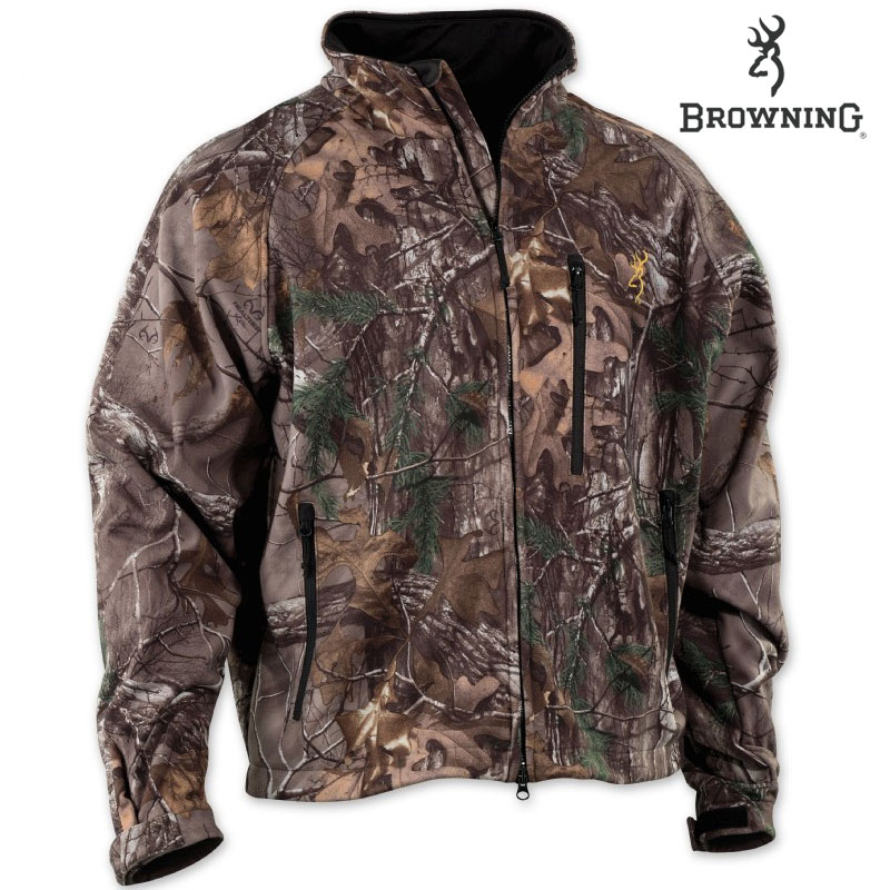 Browning Wasatch Soft Shell Jacket (2X)- RTX by Browning