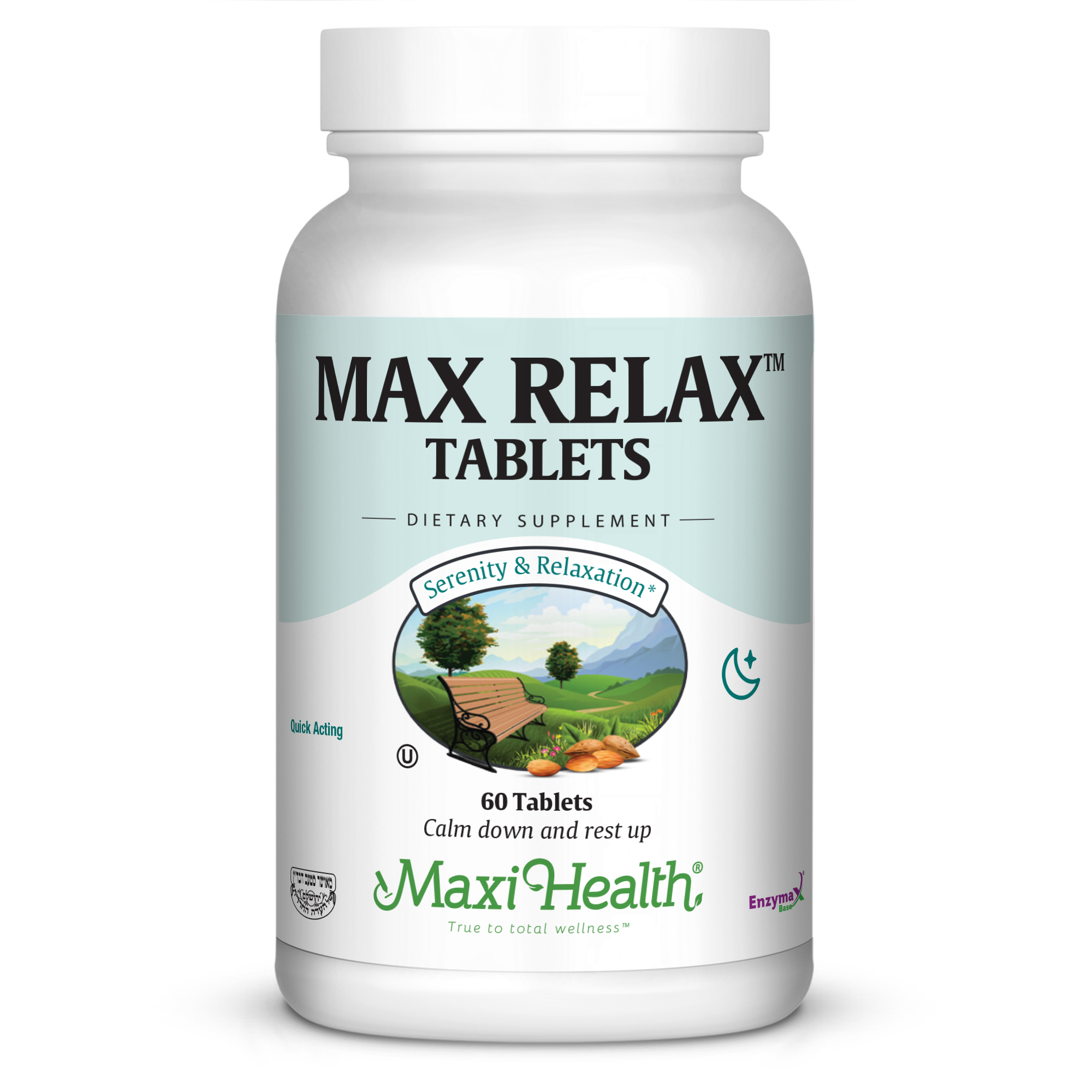 Maxi Health Max Relax Tablets, 60 Ct