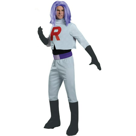 Pokemon James Team Rocket Costume Adult](Best Team Costume Ideas)
