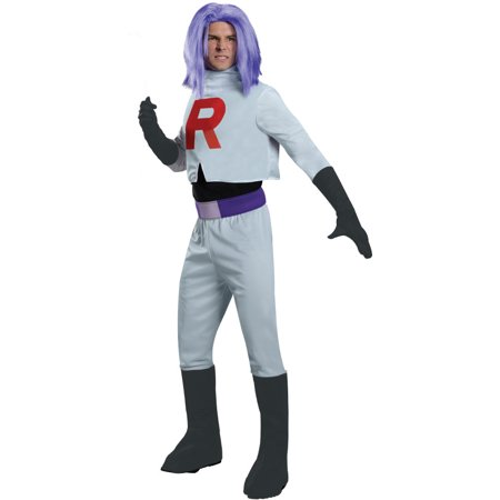 Pokemon James Team Rocket Costume Adult