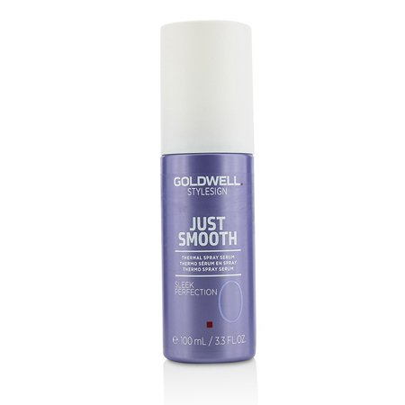 - Goldwell Style Sign Just Smooth Sleek Perfection 0 Thermal Spray Serum - 100ml/3.3oz