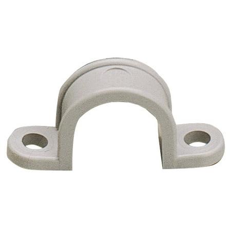 Gardner Bender GCC-220 3/4-Inch Two Hole Plastic Straps, 20-Pack 2 Hole Plastic Strap