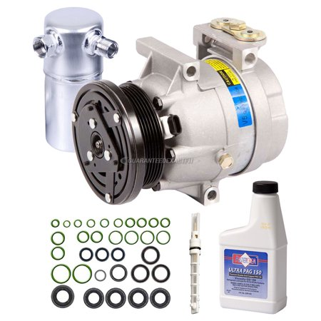 AC Compressor w/ A/C Repair Kit For Buick Regal & Oldsmobile Cutlass Supreme
