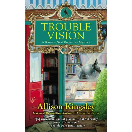 Trouble Vision : A Raven's Nest Bookstore Mystery (Ravens Nest)
