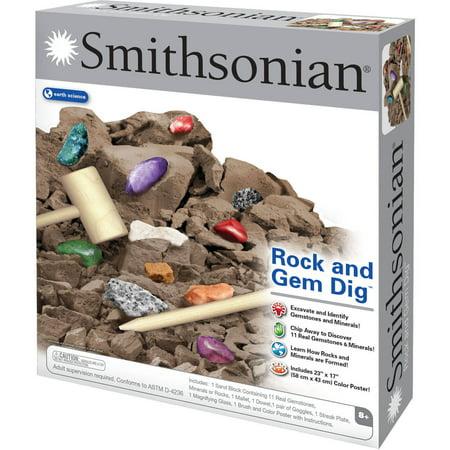 Smithsonian Rock and Gem Dig - Dig For Gems