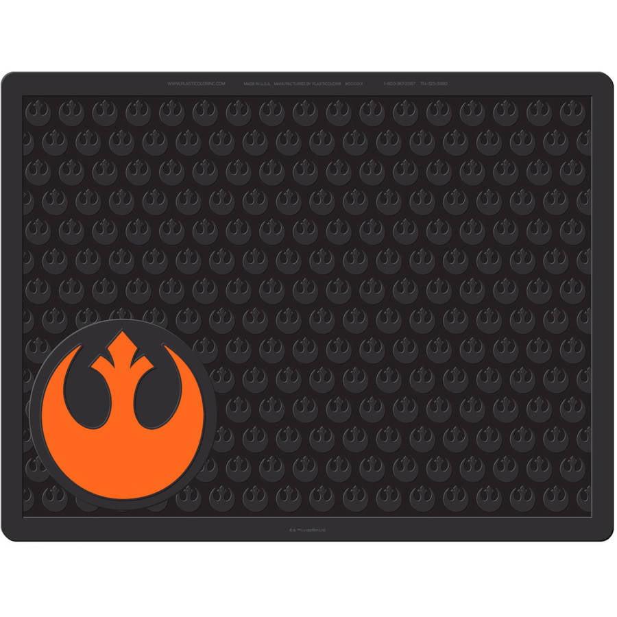 "Plasticolor Star Wars Rebel Symbol 18"" x 24"" Utility Mat"