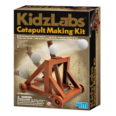 Catapult Kits (4M KidzLabs Catapult Making)