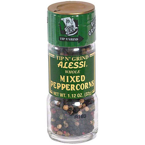 Alessi Whole Mixed Peppercorn, 1.12 oz (Pack of 6)