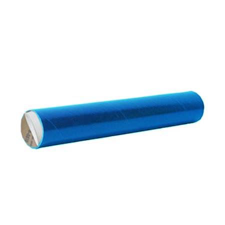 JAM Paper 2 x 24 Mailing Tube, Blue, Sold Individually