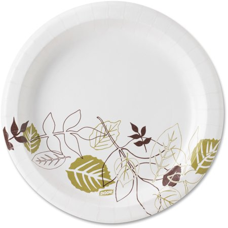 Dixie® 8.5u0022 Medium-weight Paper Plates, UX9PATH, 1,000 per Case