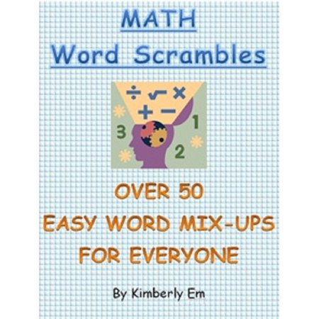 Math Word Scrambles: Over 50 Easy Word Jumbles For Everyone - eBook](Halloween Word Jumbles)
