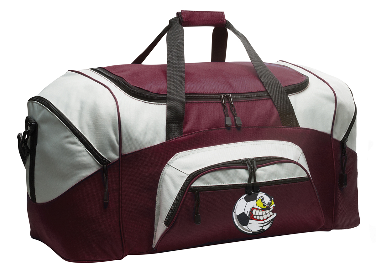 Soccer Nut Duffle Bags or Soccer Luggage by