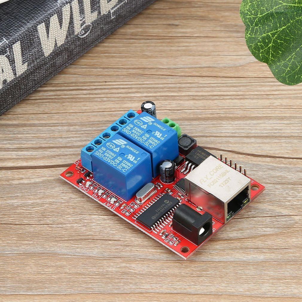 NEW LAN Ethernet Relay Board Delay Switch TCP/UDP Controller Module WEB Server