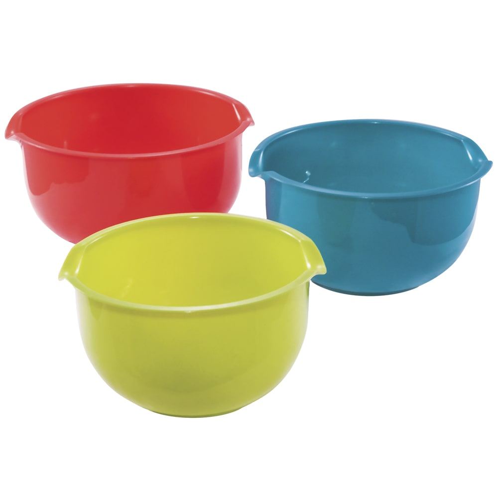 KitchenWorthy 3-Piece Mixing Bowl Set by Overstock
