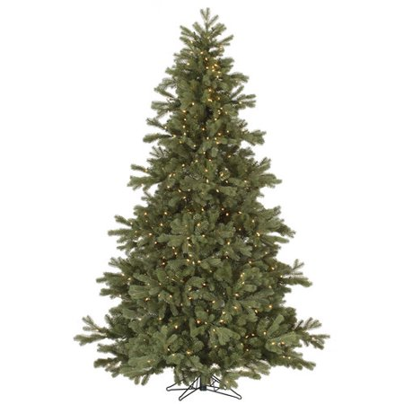 Vickerman Pre-Lit 7.5 Frasier Fir Artificial Christmas Tree, Dura-Lit, Clear Lights