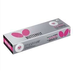 Butterfly G40+ Three Star Plastic Ball Twelve Pack (Butterfly 3 Star)
