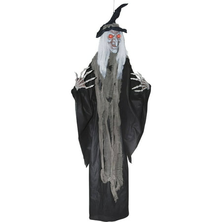 Hanging Witch 6' Halloween Decoration - Halloween Express Jobs