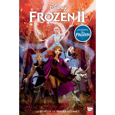 ISBN 9781506717388 product image for Disney Frozen and Frozen 2: The Story of the Movies in Comics | upcitemdb.com