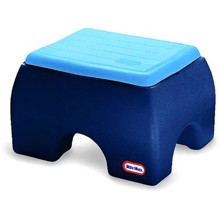Little Tikes Classic Sturdy Step Up Blue Walmart Com